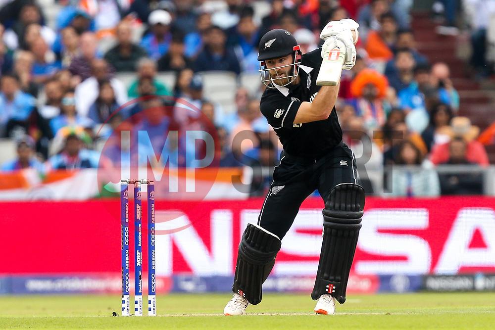 Kane Williamson of New Zealand - Mandatory by-line: Robbie Stephenson/JMP - 09/07/2019 - CRICKET - Old Trafford - Manchester, England - India v New Zealand - ICC Cricket World Cup 2019 - Semi Final