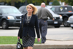 August 8, 2017 - USA - licia Stephenson (cq) heads into divorce court at the McHenry County courthouse in Woodstock on Monday, Oct. 17, 2016. She and her husband, Richard Stephenson, will have their divorce trial later today. (Credit Image: © Stacey Wescott/TNS via ZUMA Wire)