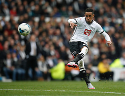 Thomas Ince of Derby County takes a free kick - Mandatory byline: Jack Phillips / JMP - 07966386802 - 18/10/2015 - FOOTBALL - The iPro Stadium - Derby, Derbyshire - Derby County v Wolverhampton Wanderers - Sky Bet Championship