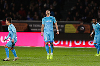 Hiroki Sakai of Marseille looks dejected during the Ligue 1 match between Angers and Marseille at Stade Jean Bouin on December 22, 2018 in Angers, France. (Photo by Eddy Lemaistre/Icon Sport)