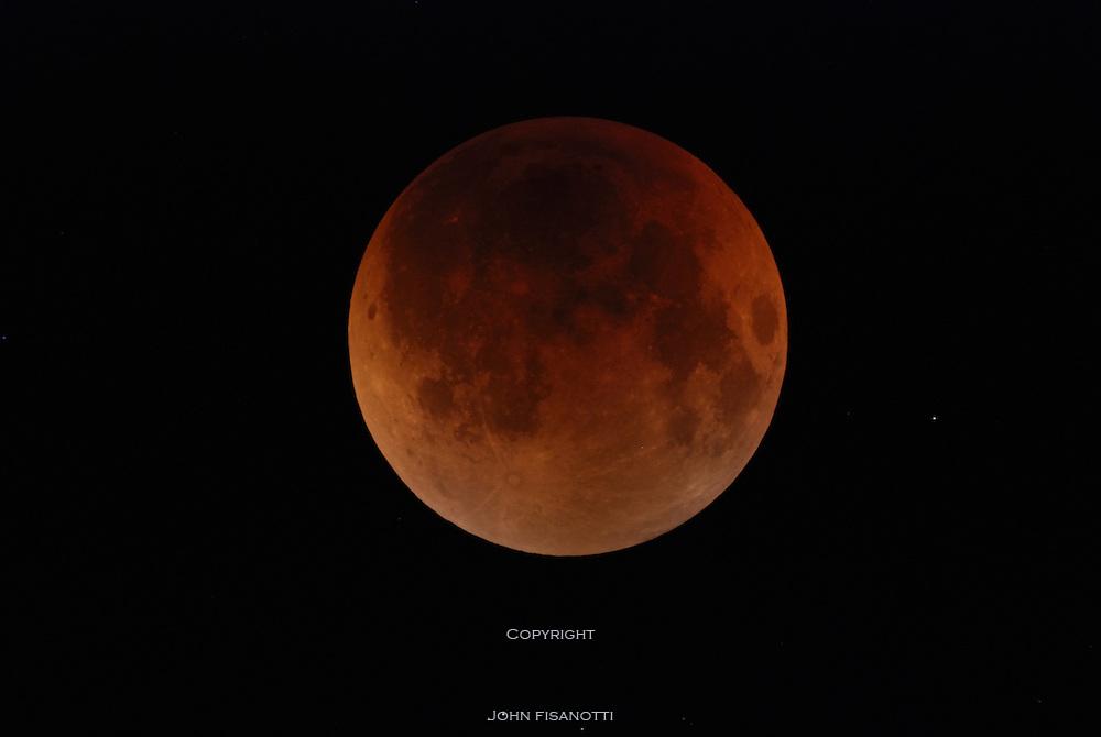 Lunar Eclipse on August 28, 2007