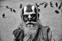 Holy Man, Durbar Square, Kathmandu, Nepal