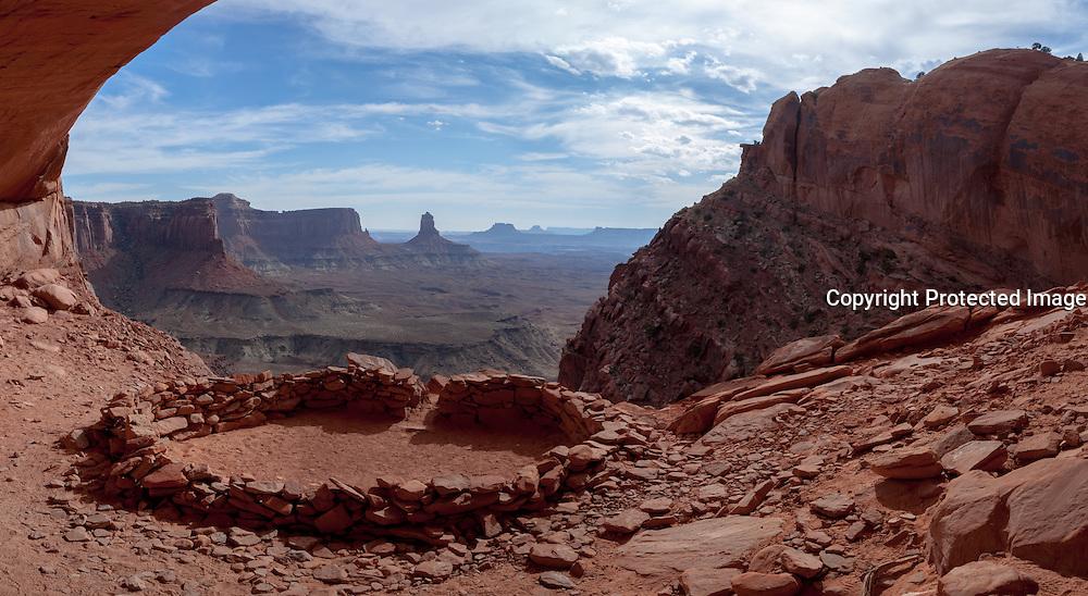 Canyonlands, False Kiva, Utah