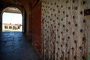 Entry to Fort Pulaski National Monument Savannah, GA.