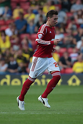 Watford's Connor Smith  - Photo mandatory by-line: Nigel Pitts-Drake/JMP - Tel: Mobile: 07966 386802 25/08/2013 - SPORT - FOOTBALL -Vicarage Road Stadium - Watford -  Watford v Nottingham Forest - Sky Bet Championship