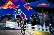 #133 (CRISTOFOLI Roberto) ITA at the UCI BMX Supercross World Cup in Papendal, Netherlands.