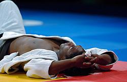 21-05-2005 JUDO: EUROPEES KAMPIOENSCHAP: ROTTERDAM<br /> Robert Krawczyk liet AHOY schudden toen de Pool in acht seconden thuisfavoriet Guillaume Elmont met ippon op zijn rug gooide. De Pool won daarmee brons.<br /> ©2005-WWW.FOTOHOOGENDOORN.NL
