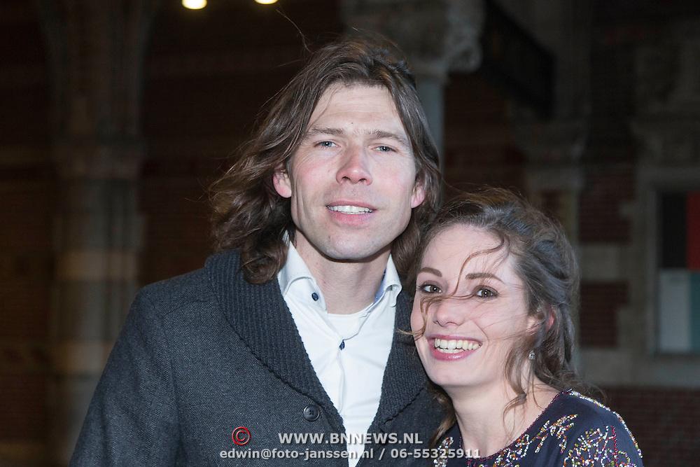 NLD/Amsterdam//20140325 - Schaatsgala 2013, Gerard van der Velden en partner Margot de Herder