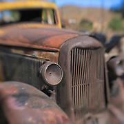 Abandoned Truck - Randsburg,CA - Lensbaby