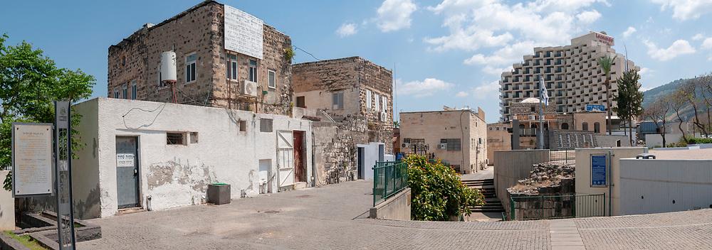"Israel, Tiberias, Ancient Jewish quarter ""Court of the Jews"" established in 1740"