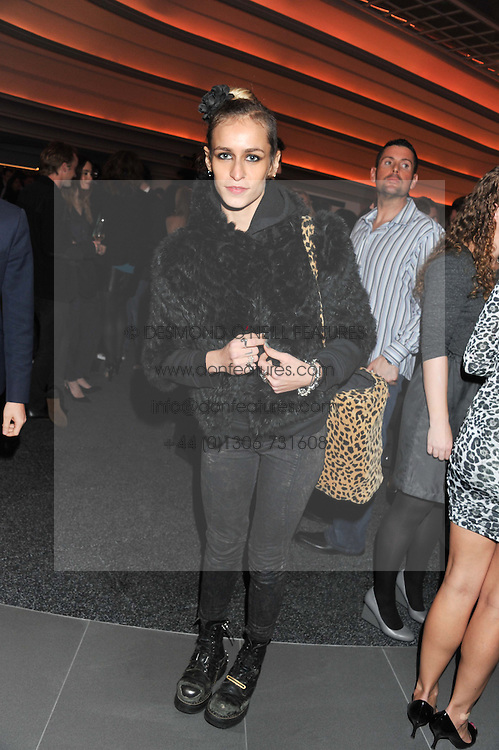 ALICE DELLAL at the launch of famed American fitness club 'Equinox' 99 High Street Kensington, London on 23rd October 2012.