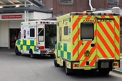 Ambulances; East Surrey Hospital UK