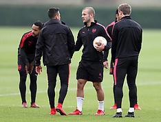 Arsenal Training Session - 1 Nov 2017