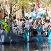 NLD/Amsterdam//20170805 - Gay Pride 2017, Iran Pride Boot
