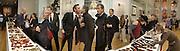 Luella Bartley, Alasdair Willis, Stella McCartney( behind) ,  Mario testino, amongst others. Unseen Vogue. Design Museum. 312 October 2002. © Copyright Photograph by Dafydd Jones 66 Stockwell Park Rd. London SW9 0DA Tel 020 7733 0108 www.dafjones.com