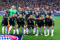 Bayern Munich's during the match of Group stage of Champions League Atletico de Madrid and Bayern Munich at Vicente Calderon Stadium in Madrid. September 28, 2016. (ALTERPHOTOS/Rodrigo Jimenez)