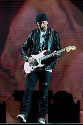 June 4, 2017 - Chicago, Illinois, U.S - THE EDGE of U2 during 30th Anniversary of the The Joshua Tree Tour at Soldier Field in Chicago, Illinois (Credit Image: © Daniel DeSlover via ZUMA Wire)