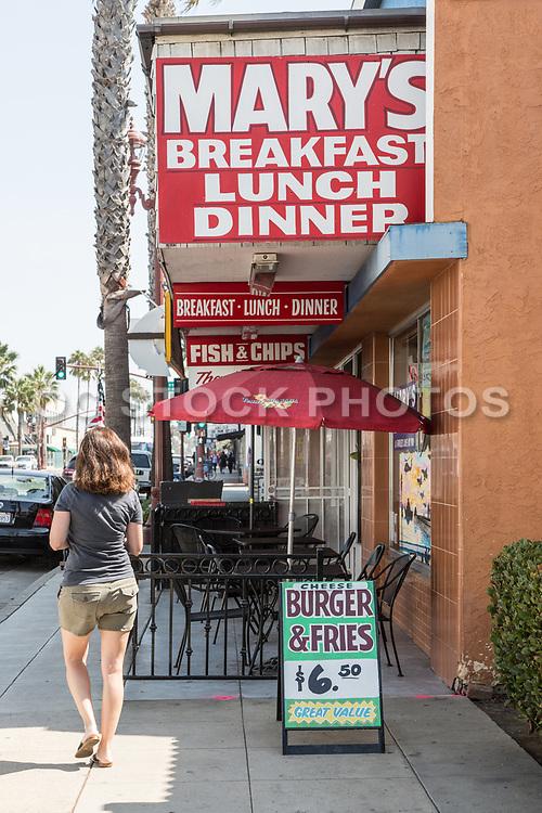 Mary's Breakfast Lunch Dinner Restaurant in Oceanside