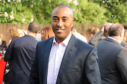 Athlete COLIN JACKSON at the annual Serpentine Gallery Summer party this year sponsored by Jaguar held at the Serpentine Gallery, Kensington Gardens, London on 8th July 2010.  2010 marks the 40th anniversary of the Serpentine Gallery and the 10th Pavilion.