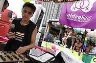 Torino, Gay Pride 2006: Carro dell' AssociazioneArci lesbica
