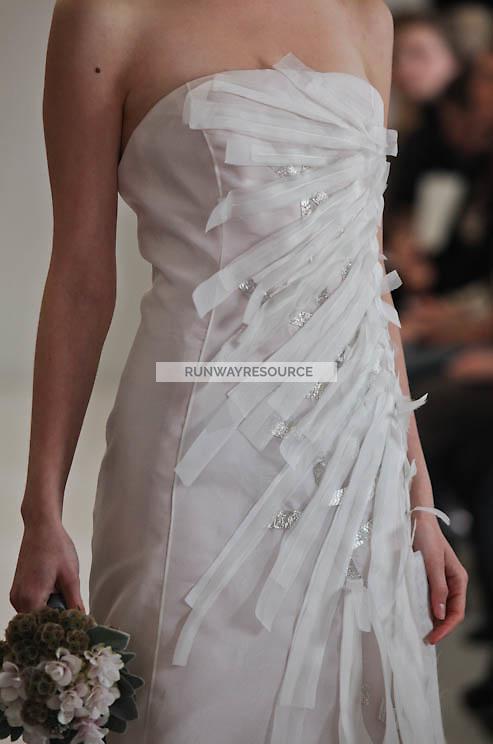 Angel Sanchez show during New York Bridal Spring 2012
