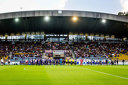 Players during 2nd Leg football match between NK Maribor and FC Chikhura in 2nd Qualifying Round of UEFA Europa League 2018/19, on August 2, 2018 in Ljudski vrt, Maribor, Slovenia. Photo by Ziga Zupan / Sportida