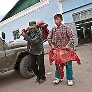 Mongolia. market  Tsetserleg -    / marche  Tsetserleg - Mongolie   / L0009322