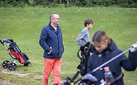 HALFWEG - jeugdgolf  met Ruud Teeuwen, commissielid Jeygdgolf,   op de Amsterdamse Golf Club.    COPYRIGHT KOEN SUYK