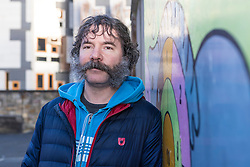 """Local businessman, Andrew Burnett is wearing an elaborate moustache for a week to raise funds to help his daughter's (Alexa) school raise funds to build a new playground.<br /> <br /> Andrew had grown a beard over a number of months and took to Facebook to ask friends to donate toward the school fund and in return they could suggest the half-way style before he returns to being clean-shaven.<br /> <br /> Andrew said, """"Royal Mile Primary School is the only primary in Edinburgh's Old Town and it is a brilliant school but doesn't have equipment for the children to play on. If me looking stupid for a week can raise a few pounds for the fund then it will be great!""""<br /> <br /> The Royal Mile Primary School, originally known as Milton House School, is situated on the Canongate in the heart of Edinburgh, the only operational primary school left within the historic Old Town. The school wants to build a modern playground complete with various climbing structures, space to run around in and quiet corners. This would not only enrich the lives of the current student body but would enhance the lives of many future generations of children as well. <br /> <br /> The school has a target of £60,000 and has already raised over £17,000 through a Go Fund Me page https://www.gofundme.com/RMPSplayground"""