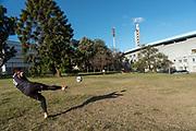 20210602 / URUGUAY / MONTEVIDEO /        Estadio Centenario. Foto: Ricardo Antúnez / adhocFOTOS