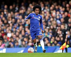 Willian of Chelsea - Mandatory byline: Robbie Stephenson/JMP - 10/01/2016 - FOOTBALL - Stamford Bridge - London, England - Chelsea v Scunthrope United - FA Cup Third Round