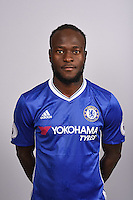 COBHAM, ENGLAND - AUGUST 11: Victor Moses of Chelsea during the Official Portrait session at Chelsea Training Ground on August 11, 2016 in Cobham, England. (Photo by Darren Walsh/Chelsea FC via Getty Images)