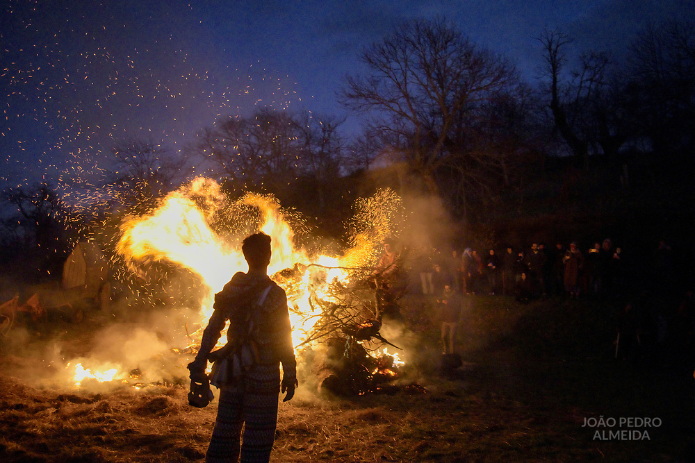 The Entrudo (or Shrovetide) festivities at Vila Boa (small village in Porgugal's Trás-Os-Montes region), a traditional carnival celebration that dates back to the pre.christian winter solstice traditions.