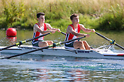 Race: 47  2x (Band 2)  Heat 2<br /> <br /> Peterborough Summer Regatta 2018 - Saturday<br /> <br /> To purchase this photo, or to see pricing information for Prints and Downloads, click the blue 'Add to Cart' button at the top-right of the page.