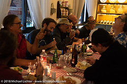 Wrap dinner in Kathmandu on day-10 of our Himalayan Heroes adventure after riding from Nuwakot back to Kathmandu, Nepal. Thursday, November 15, 2018. Photography ©2018 Michael Lichter.