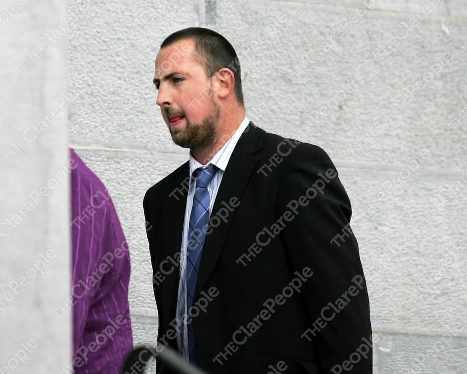 31/10/07<br />Noel Murphy arriving at Ennis Court Today.<br />Press 22