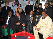 "**EXCLUSIVE**.Unik, Boris Kodjoe, Will Smith, Jada Pinkett Smith & Charles ""Charlie Mac"" Alston.Will Smith's best friend and confidant, Charles ""Charlie Mac"" Alston 40th Birthday Party.PM Lounge.New York City, NY, United States .Sunday, December 18, 2005 .Photo By Celebrityvibe.com/Photovibe.com.To license this image please call (212) 410 5354; or.Email: sales@celebrityvibe.com ;.Website: www.celebrityvibe.com ....."