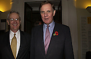 Ralph Veerman and Jonathan Aitken. Opening of  China: The three Emperors, 1662-1795. Royal Academy. 8 November 2005 . ONE TIME USE ONLY - DO NOT ARCHIVE © Copyright Photograph by Dafydd Jones 66 Stockwell Park Rd. London SW9 0DA Tel 020 7733 0108 www.dafjones.com