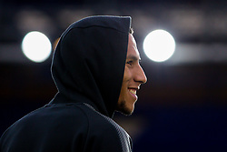 Isaac Hayden of Newcastle United arrives at Goodison Park for the game against Everton - Mandatory by-line: Robbie Stephenson/JMP - 23/04/2018 - FOOTBALL - Goodison Park - Liverpool, England - Everton v Newcastle United - Premier League