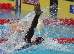 Simone MANUEL of the USA,gold in the 100 free 28.7.2017 - 17th FINA Aquatics World Championships held in Budapest, Hungary on July 28, 2017. Photo by Giuliano Bevilacqua/ABACAPRESS.COM