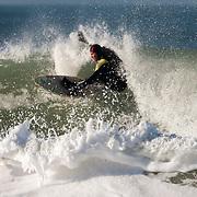 Surf sur la plage du Lizay / Ile de Ré