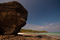 Devil's Rock at Devil's Beach, Turtle Island, Yasawa Islands, Fiji