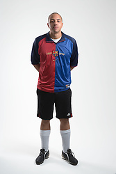 Young man wearing football kit, Cleared for Mental Health and depression,