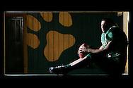 Photo by Alex Jones..Lyford Bulldogs quarterback #11 Leni Cepeda