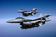 F16G Wild Weasel w HARMs F16C