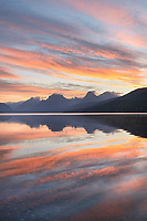 Sunrise at Lake McDonald Glacier National Park Montana