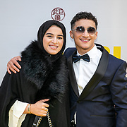 NLD/Amsterdam/20190605 - Premiere De Libi, Oussama Ahammoud en zus Zara