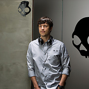Skull Candy CEO Jeremy Andrus at the Skull Candy headquarters in Park City, Utah Tuesday May 29, 2012. (August Miller)