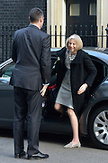 © Licensed to London News Pictures. 05/03/2013. Westminster, UK. Home Secretary Theresa May arrives by car. Ministers arrive for a Cabinet Meeting at number 10 Downing Street on 5th March 2013. Photo credit : Stephen Simpson/LNP