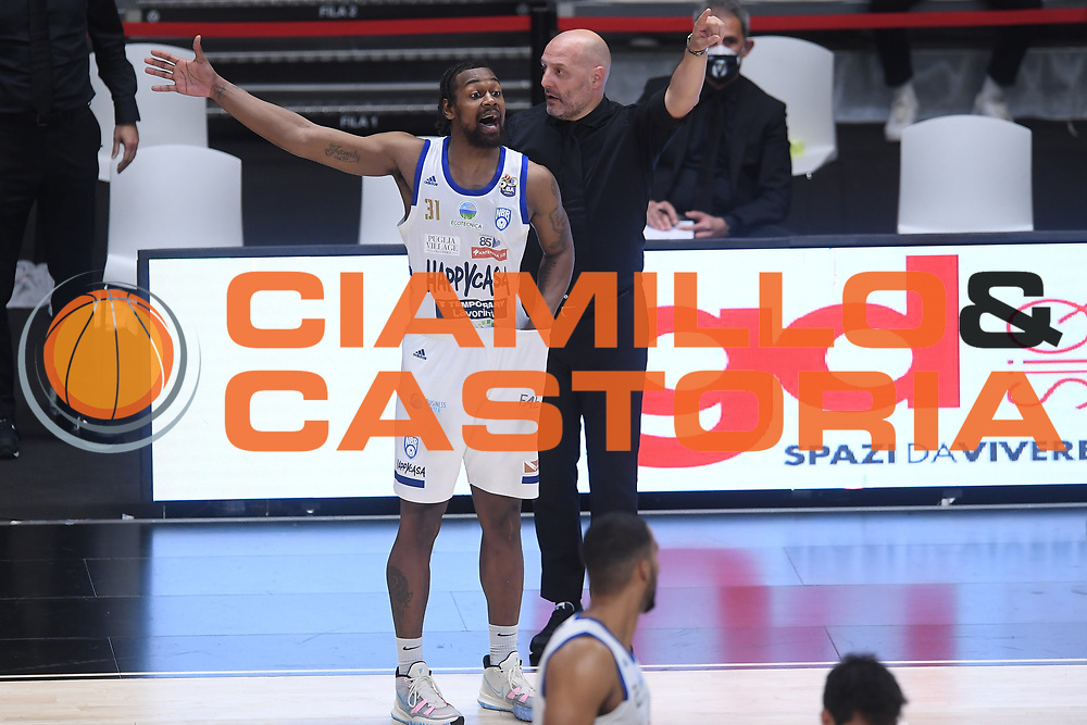 Djordjevic Alexandar , Bell James<br /> Segafredo Virtus Bologna - Happy Casa Brindisi<br /> Semifinali - Gara 3<br /> Legabasket Serie A UnipolSAI 2020/2021<br /> Bologna, 02/06/2021<br /> Foto GiulioCiamillo / Ciamillo